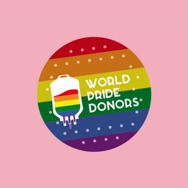 #WORLDPRIDEDONORS